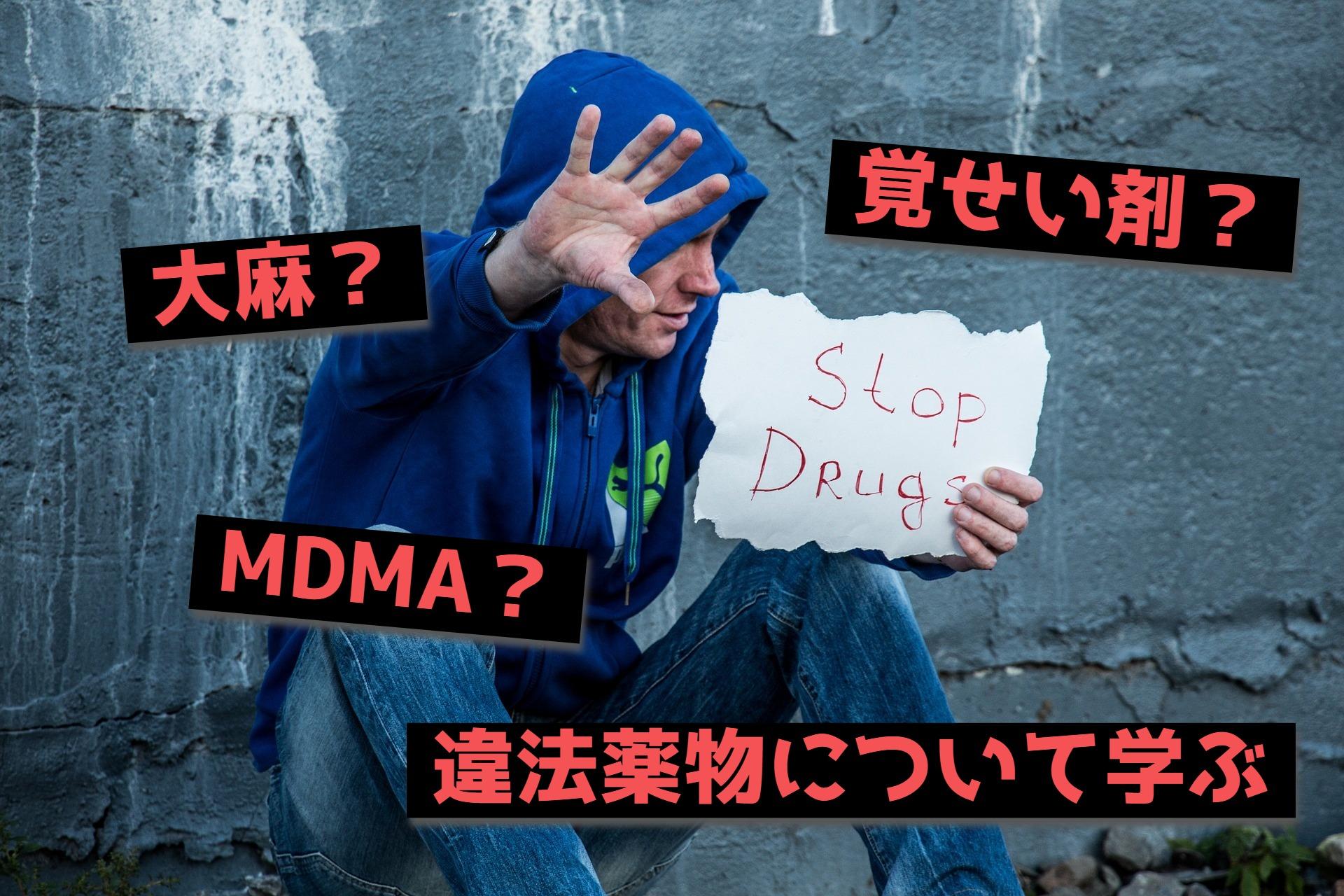 芸能人が大麻所持で逮捕!この機会に違法薬物について知る