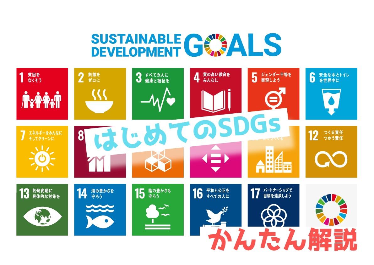 知っておきたい大人の教養 【SDGs】を簡単解説